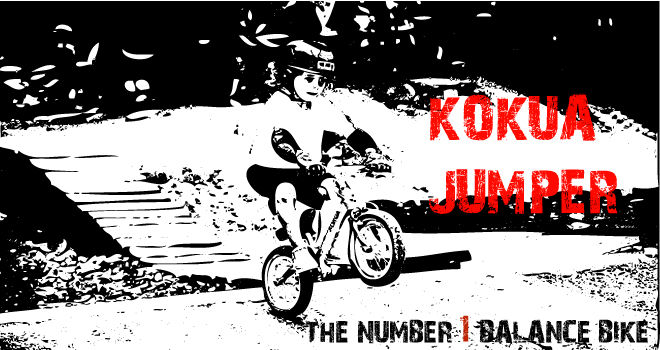 KOKUE Jumper. The number one balance bike.