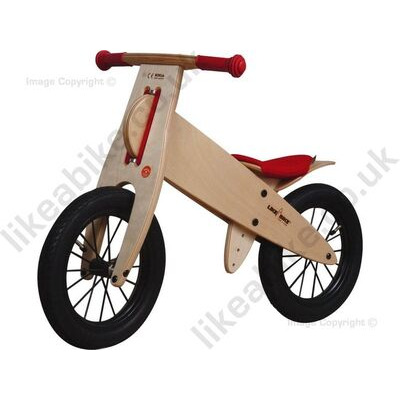 KOKUA LIKEABIKE Spoky  Red With Black Wheels  click to zoom image