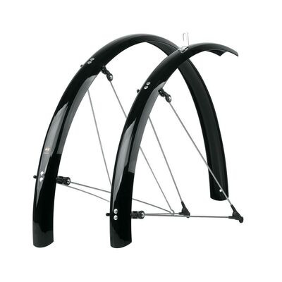 "SKS Bluemels Mudguards 60mm x 28"" Black"