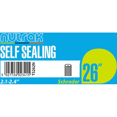 "NUTRAK 26x2.1 - 2.4"" Schrader - self-sealing"
