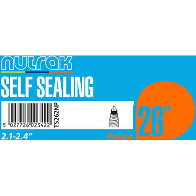 "NUTRAK 26x2.1 - 2.4"" Presta - self-sealing"