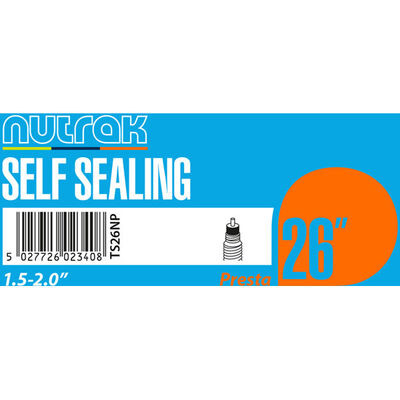 "NUTRAK 26x1.5 - 2.0"" Presta - self-sealing"