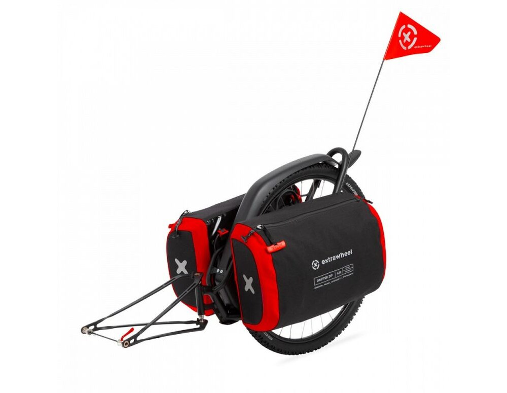 EXTRAWHEEL Brave with Drifter Zip 90L Bags click to zoom image