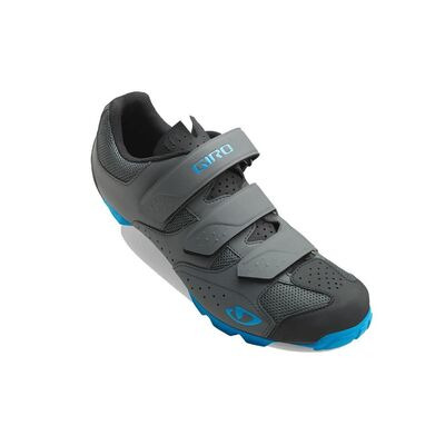 GIRO Carbide R II MTB Cycling Shoes Dark Shadow/Blue