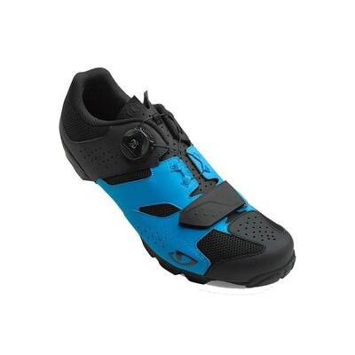 GIRO Cylinder MTB Cycling Shoes Blue Jewel/Black