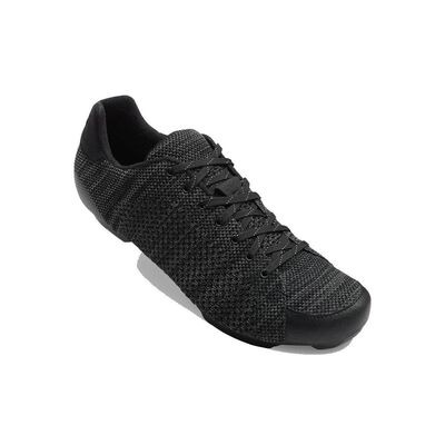 GIRO Republic R Knit Road Cycling Shoes Black/Charcoal Heather