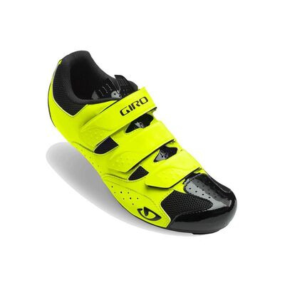 GIRO Techne Road Cycling Shoes Highlight Yellow