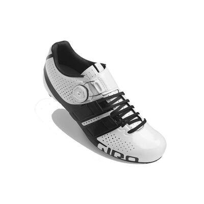 GIRO Factress Techlace Women's Road Cycling Shoes White/Black