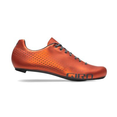 GIRO Empire Road Cycling Shoe 2020: Orange Red Anodized