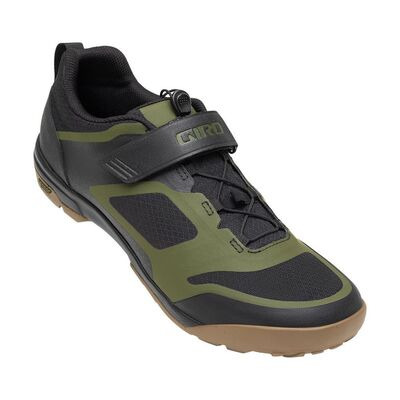 GIRO Ventana Fastlace MTB Cycling Shoes Black/Olive