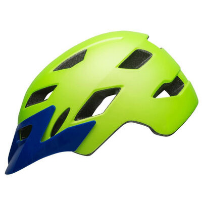 BELL Sidetrack Youth (50-57cm) 50-57cm Matte Bright Green/Blue  click to zoom image