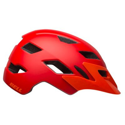 BELL Sidetrack Youth (50-57cm) 50-57cm Matte Red/Orange  click to zoom image