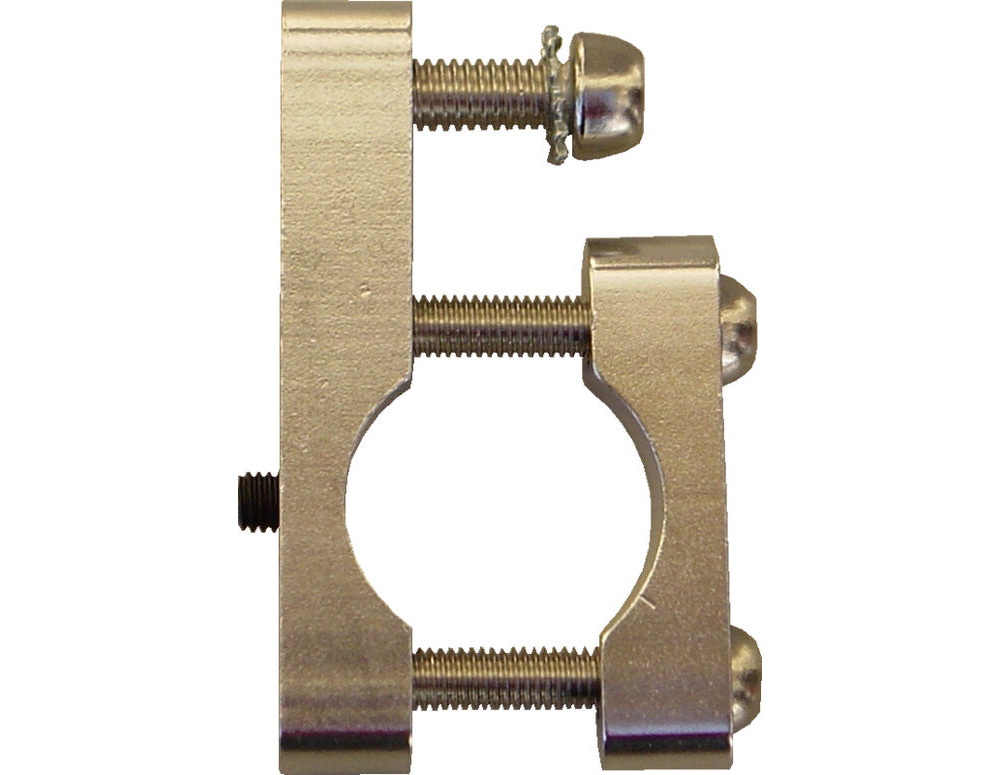 BUSCH & MULLER CNC Aluminium Dynamo Bracket click to zoom image