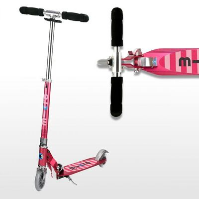 MICRO SCOOTERS Sprite  Pink Stripe  click to zoom image