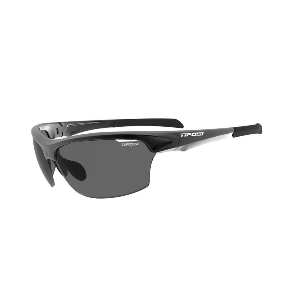 Tifosi Intense Bike Cycle Single Lens Sunglasses Matt Gunmetal//Clear