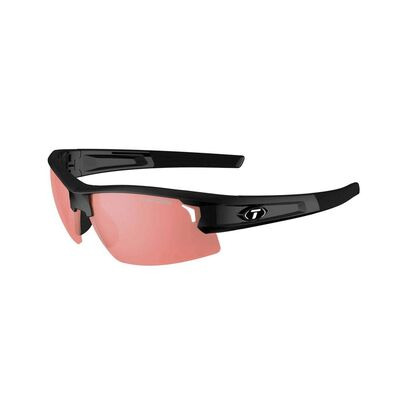 TIFOSI Synapse Single Lens Sunglasses Gloss Black/Fototec High Speed Red