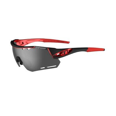TIFOSI Alliant Interchangeable Lens Eyewear Black/Red