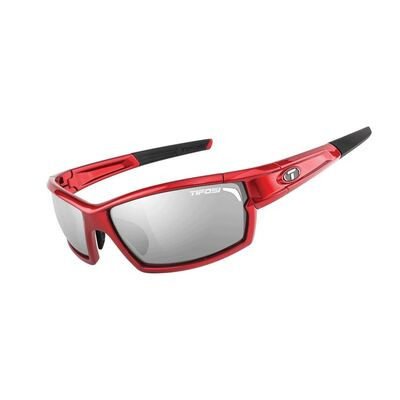 TIFOSI Camrock Full Frame Interchangeable Lens Sunglasses Metallic Red