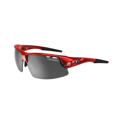 TIFOSI Crit Half Frame Metallic Red Sunglasses Metallic Red