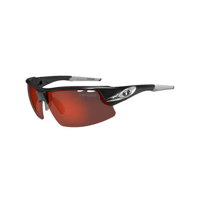 TIFOSI Crit Half Frame Race Silver Clarion Red Sunglasses Race Silver