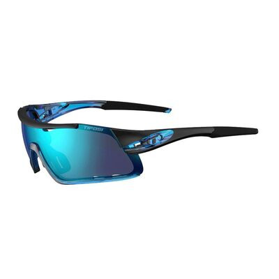 TIFOSI Davos Interchangeable Clarion Blue Lens Sunglasses Crystal Blue/Clarion Blue