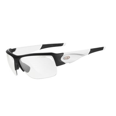 TIFOSI Elder Black/White Fototec Light Night Lens Sunglasses Black/White