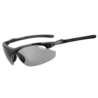 TIFOSI Tyrant 2.0 Carbon Polarised Fototec Photochromic Smoke Lens Sunglasses Carbon