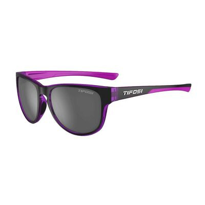 TIFOSI Smoove Single Lens Eyewear 2019 Onyx Ultra Violet/Smoke