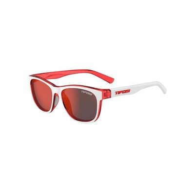 TIFOSI Swank Single Lens Eyewear 2019 Icicle Red/Smoke Red
