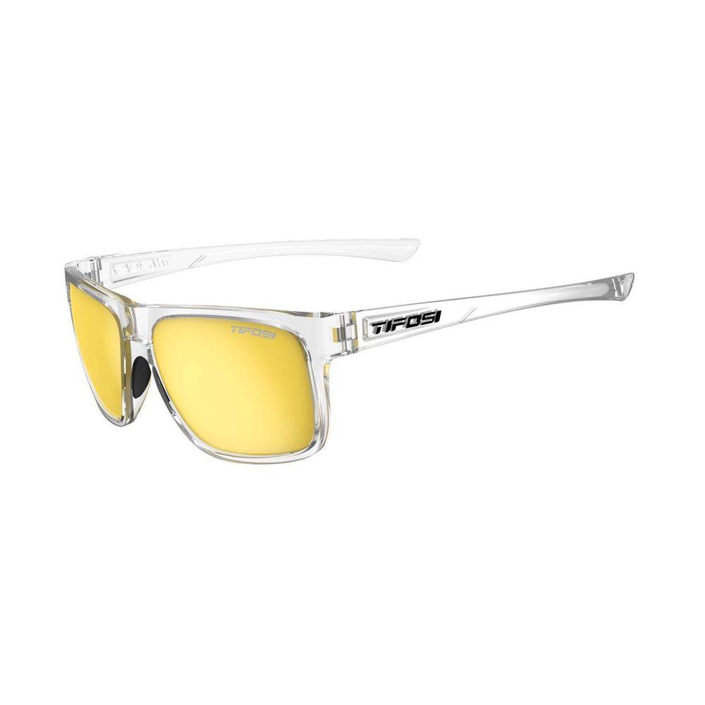 dbbfa5f7f86 TIFOSI Swick Single Lens Eyewear 2019 Crystal Clear Smoke Yellow ...