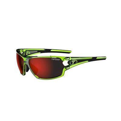 TIFOSI Amok Clarion Red Interchangeable Lens Eyewear 2019 Crystal Neon Green/Red Clarion