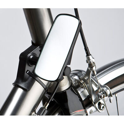 M: PART Adjustable mirror for head tube fitment, wide, black