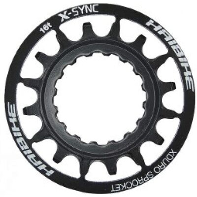HAIBIKE X-Duro/Sync Bosch E-Bike 16t Black Sprocket