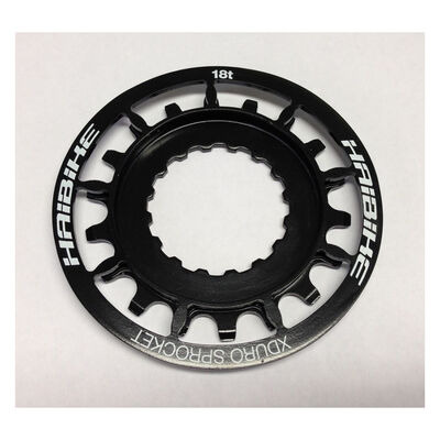 HAIBIKE X-Duro/Sync Bosch E-Bike 18t Black Sprocket