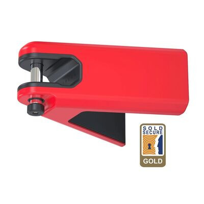 HIPLOK Airlok Wall Mounted Lock/Hanger  RED  click to zoom image