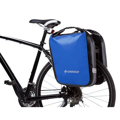 CROSSO Dry 60L (Pair) Rear  Blue  click to zoom image