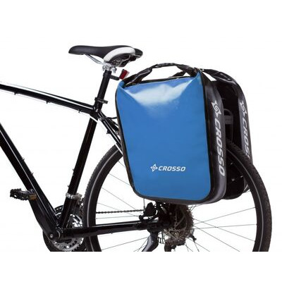 CROSSO Dry 60L (Pair) Rear  Light Blue  click to zoom image