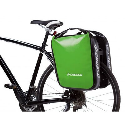 CROSSO Dry 60L (Pair) Rear  Light Green  click to zoom image