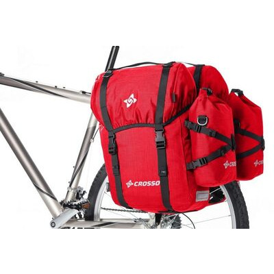 CROSSO Expert 60L (Pair) Rear  Red  click to zoom image