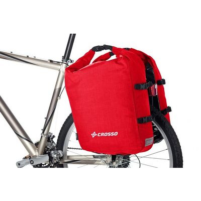 CROSSO Twist 52L (Pair) - Rear  Red  click to zoom image