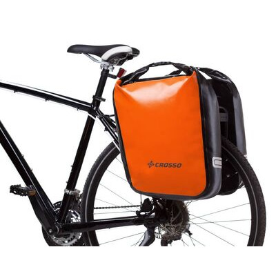 CROSSO Dry 60L Panniers Klickfix  Orange  click to zoom image