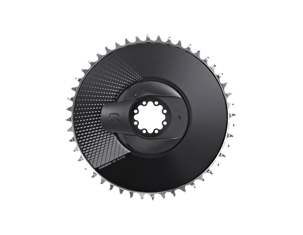 QUARQ Powermeter Kit Dm 52t Red Axs D1 Aero Black (Powermeter Including Chainring) 52t click to zoom image