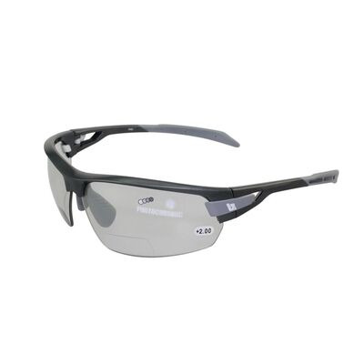 BZ OPTICS PHO Bi-focal Photochromic Glasses Graphite