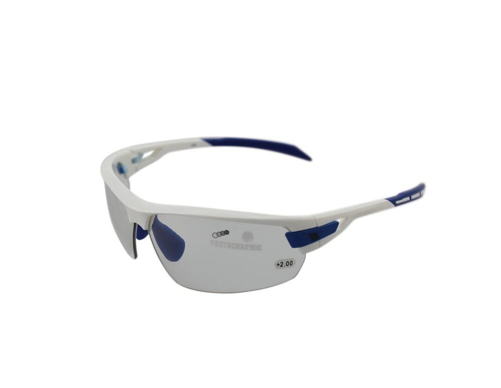 BZ OPTICS PHO Bi-focal Photochromic Glasses White click to zoom image
