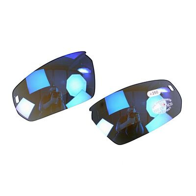 BZ OPTICS Pho Replacement Lenses Bi-Focal lenses ONLY for Pho model Blue Mirror +2.50