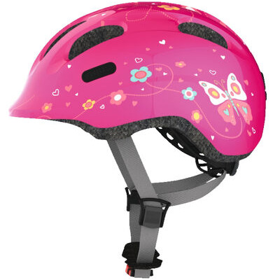 ABUS Smiley 2.0 45-50cm Pink Butterfly  click to zoom image
