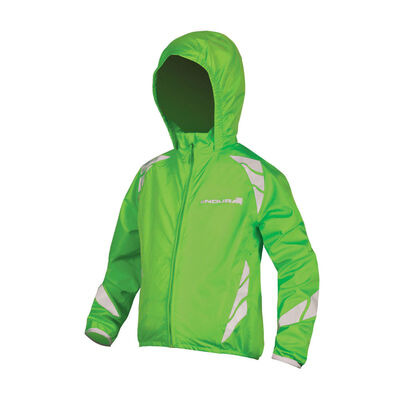 ENDURA Kids Luminite Jacket II HiVizGreen