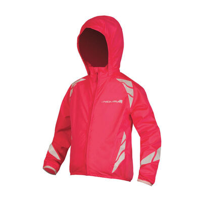 ENDURA Kids Luminite Jacket II HiVizPink