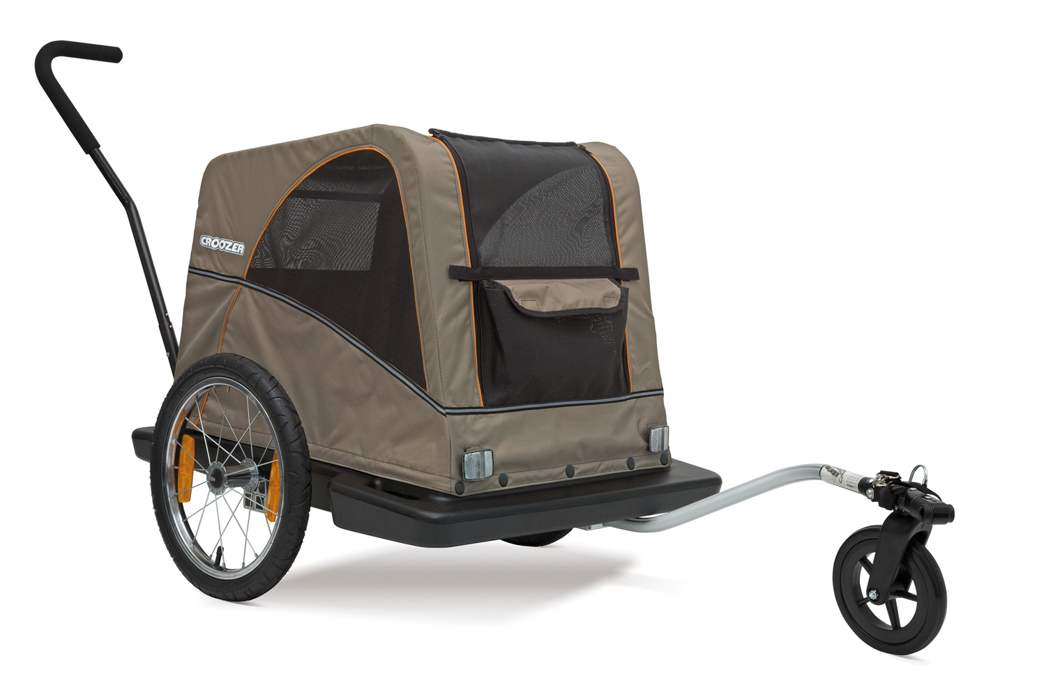 Croozer dog buggy trailer