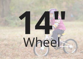 Lightweight Kids Hybrid bike with 14 Inch wheels